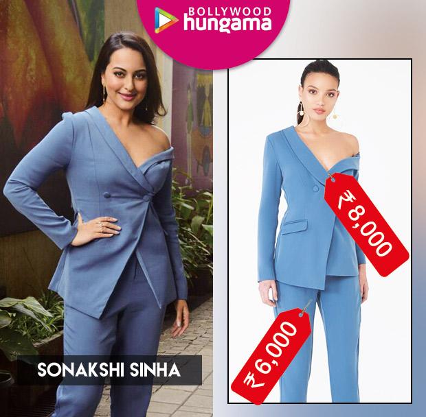 Weekly Celeb Splurges: Sonakshi Sinha in Lavish Alice