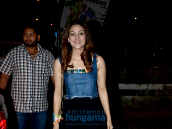 Yami Gautam snapped with her sister Surilie Gautam at Bastian