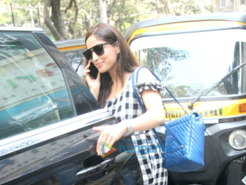 Yami Gautam spotted at Kitchen Garden