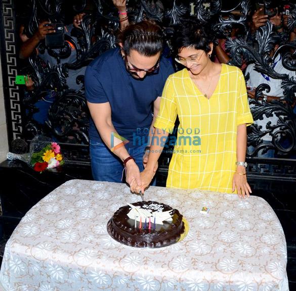 Aamir Khan celebrates his 53rd birthday with media