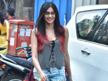 Adah Sharma spotted at Farmers' Cafe in Bandra