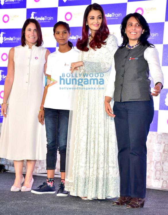 Aishwarya Rai Bachchan celebrate Smile Train India 500,000 free cleft surgeries
