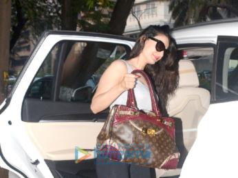 Amessha Patel snappped at Kromakay Salon in Juhu