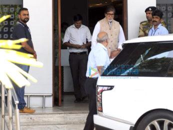 Amitabh Bachchan snapped returning from Jodhpur