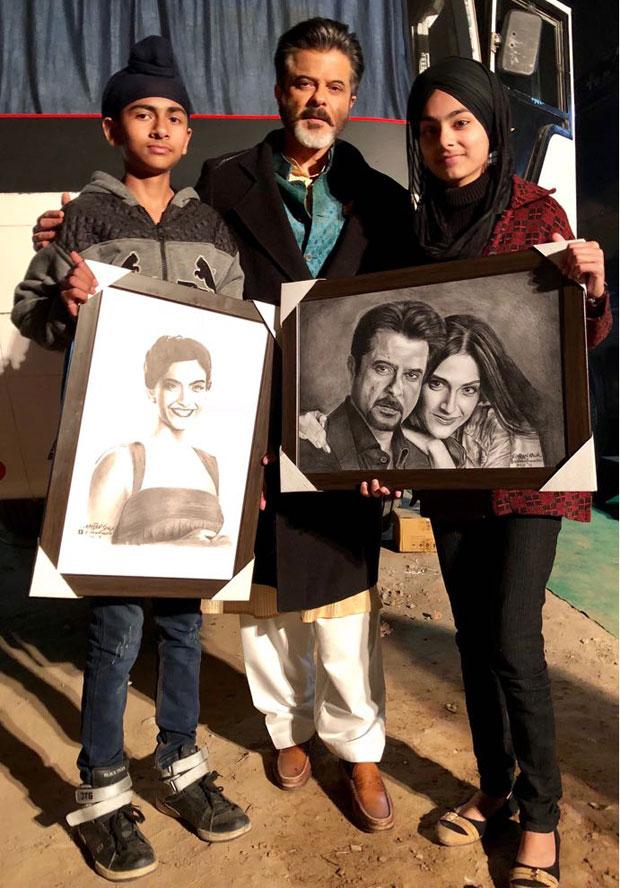 Anil Kapoor receives a surprise on the sets of Ek Ladki Ko Dekha Toh Aisa Laga