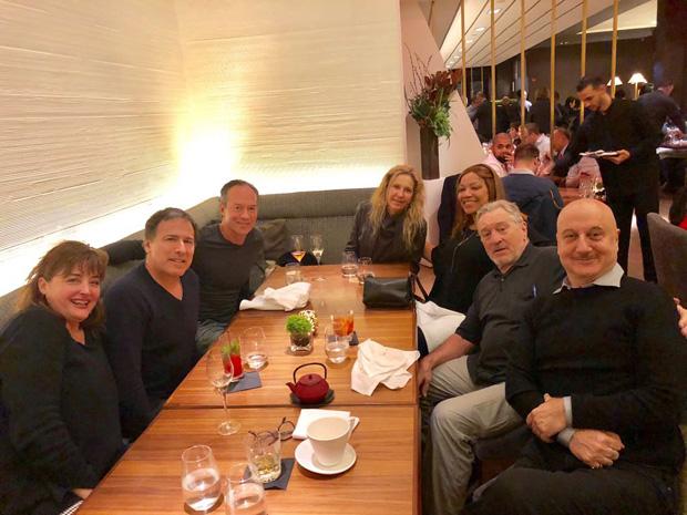 Anupam Kher treats Robert De Niro with Indian food in New York