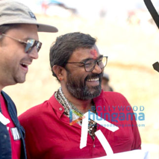 On The Sets Of The Movie Batti Gul Meter Chalu