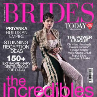 Priyanka Chopra On The Cover Of Brides