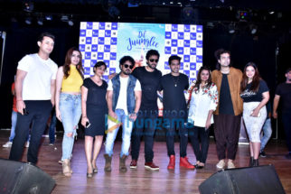 Cast of the film Dil Juunglee grace the success bash of the film's music