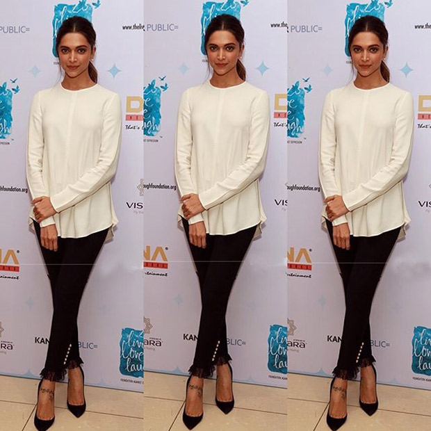Deepika Padukone – Effortless Chic, always