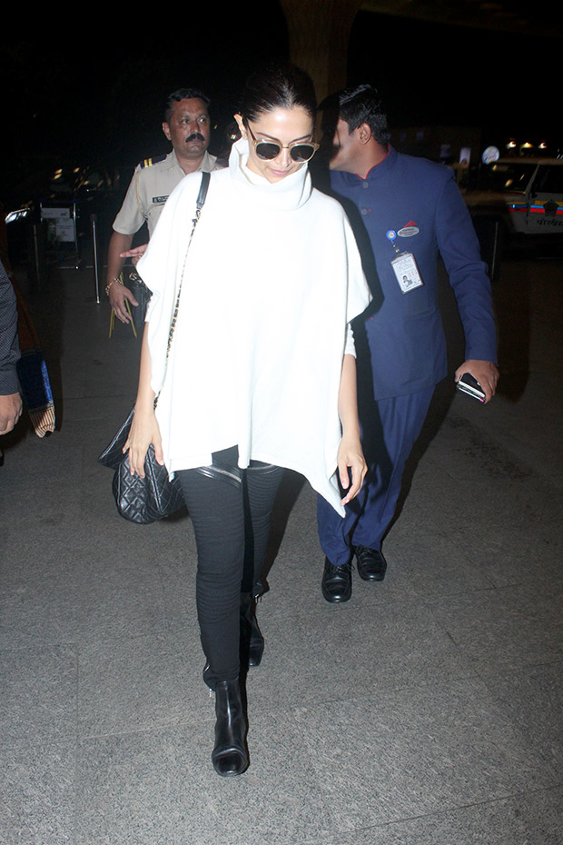 Deepika Padukone goes chic in monochrome separates