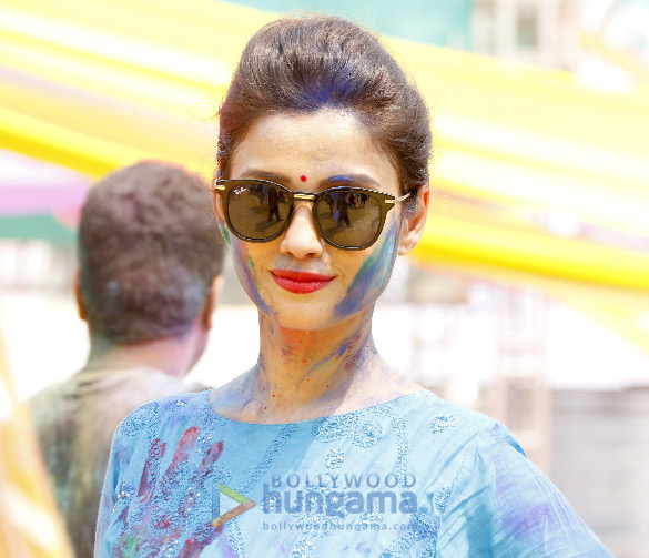 Ekta Kapoor, Hardik Pandya and others at Holi Invasion party (9)