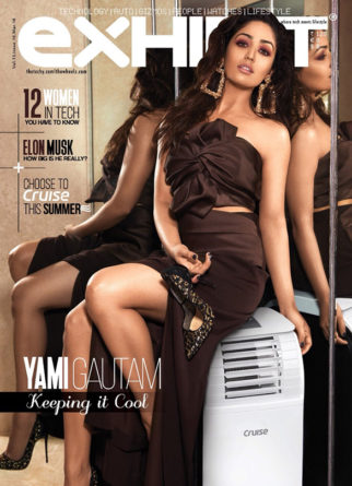 Yami Gautam On The Cover Of Exhibit