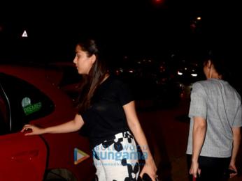 Farhan Akhtar and Mira Rajput snapped at Otters Club in Bandra