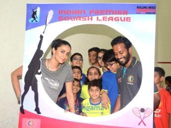 Gul Panag graces the launch of the Indian Premier Squash League