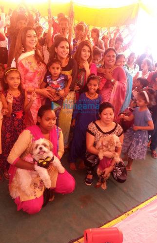 Gurpreet Kaur Chadha and Liza Malik celebrate Gudi Padwa with underprivileged kids