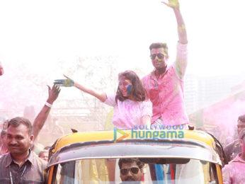 Huma Qureshi, Urvashi Rautela, Manish Paul and others grace the Zoom Holi Party 2018