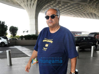 KaKamal Haasan, Boney Kapoor, Huma Qureshi and others snapped at the airportmal Haasan and Boney Kapoor snapped at the airport