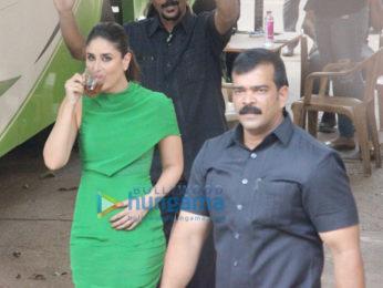 Kareena Kapoor Khan snapped with her son Taimur Ali Khan at Mehboob Studio in Bandra
