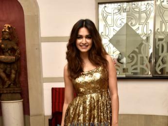Kriti Kharbanda attends a friend's wedding function