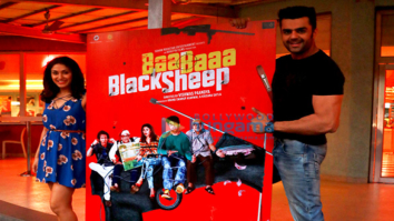 Manish Paul and Manjari Fadnis snapped promoting 'Baa Baaa Black Sheep' at Imagica