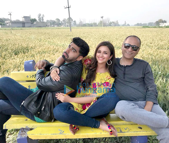 Arjun Kapoor - Parineeti Chopra starrer Namaste England says Namaste Punjab for their next schedule!