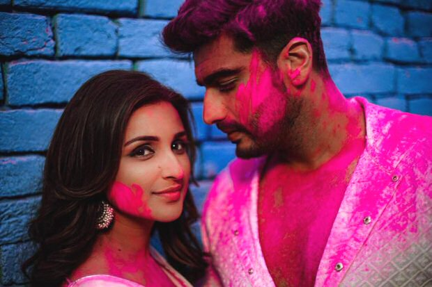 Namastey England: Parineeti Chopra and Arjun Kapoor celebrate belated Holi