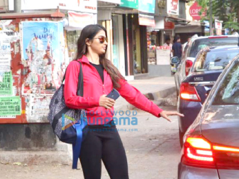 Pooja Hegde and Soundarya Sharma snapped at Sequel Cafe in Bandra