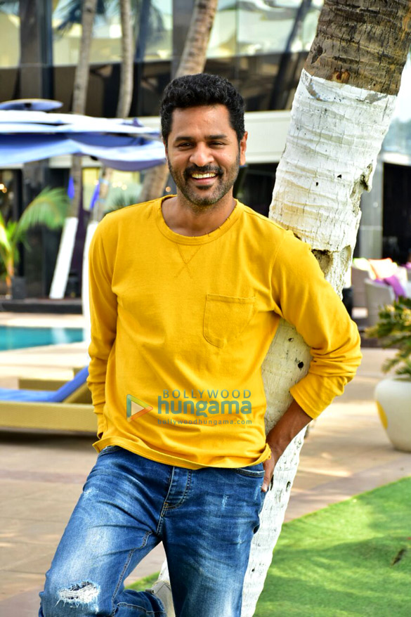 Prabhu Dheva snapped during media interactions