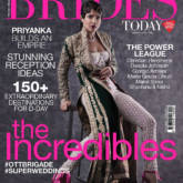 Priyanka Chopra as the March 2018 cover girl for Brides Today