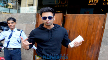 Pulkit Samrat spotted at Indigo Cafe in Bandra