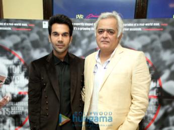 Rajkummar Rao and Hansal Mehta grace the trailer launch of the film Omerta