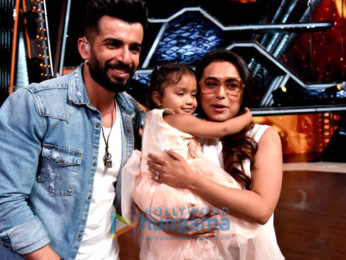 Rani Mukerji on the sets of DID Lil' Masters