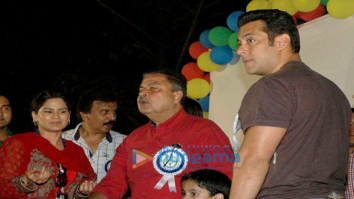 Salman Khan snapped at an event in Versova