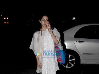 Sara Ali Khan snapped in Bandra