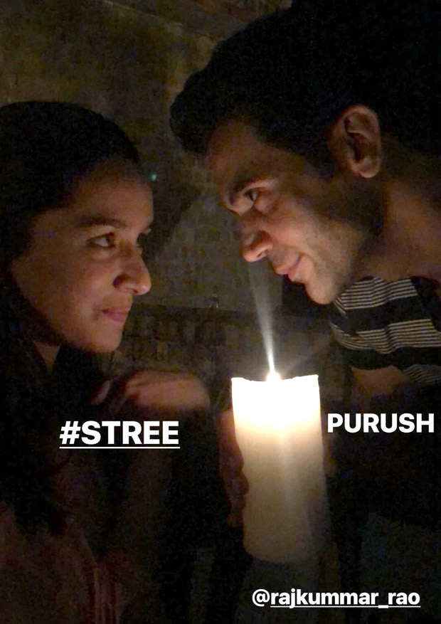 On the sets of STREE: Shraddha Kapoor and Rajkummar Rao indulge in Dil Se jugalbandi and Shah Rukh Khan will definitely love it!