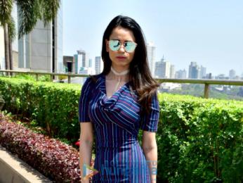 Soundarya Sharma snapped at Bombay Times Fashion Week