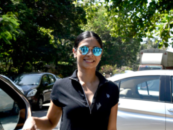 Tanishaa Mukerji snapped in Mumbai