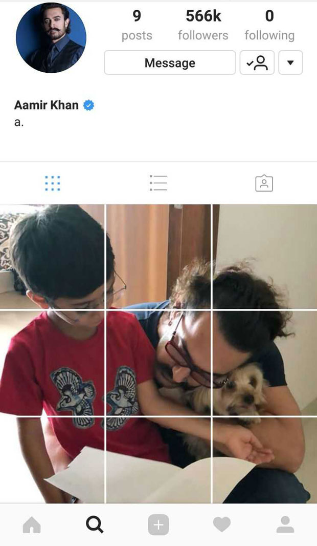 This Aamir Khan picture with Azad is the cutest ever and here's why
