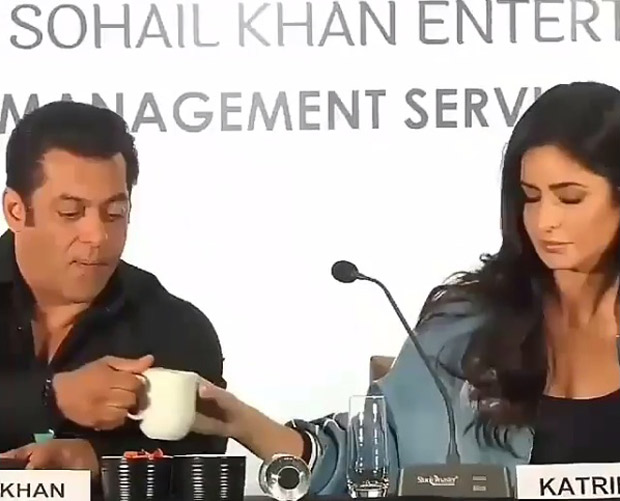 This video of Salman Khan and Katrina Kaif sipping coffee from the same mug is going viral