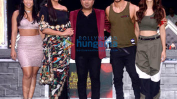 Tiger Shroff and Disha Patani snapped promoting their film Baaghi 2 on High Fever Dance Ka Naya Tevar