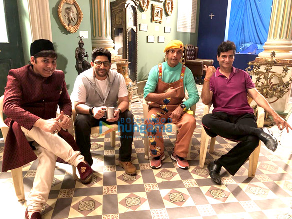 Arshad Warsi and Javed Jaffery to commence their first schedule for Total Dhamaal