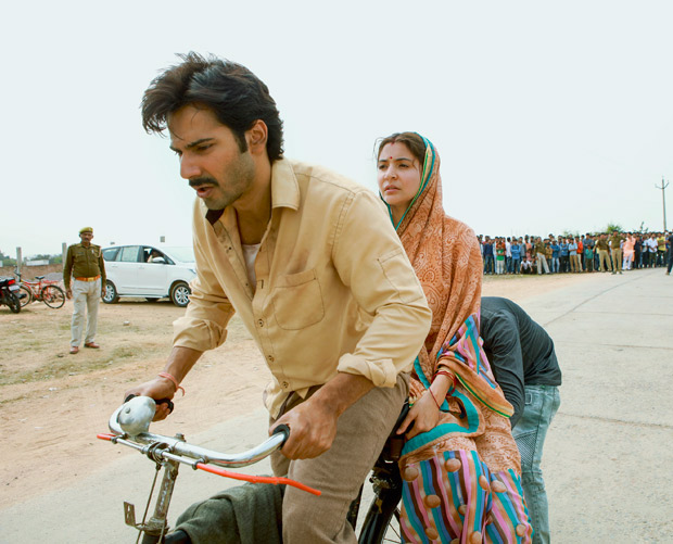 Varun Dhawan rides bicycle for 10 hours with Anushka Sharma as pillion