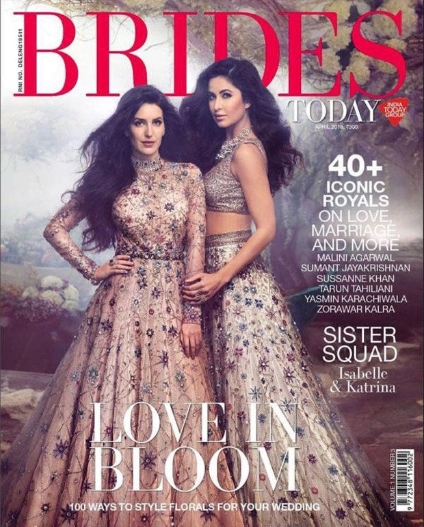 WOW! Katrina Kaif channels her inner BRIDE with sister Isabelle