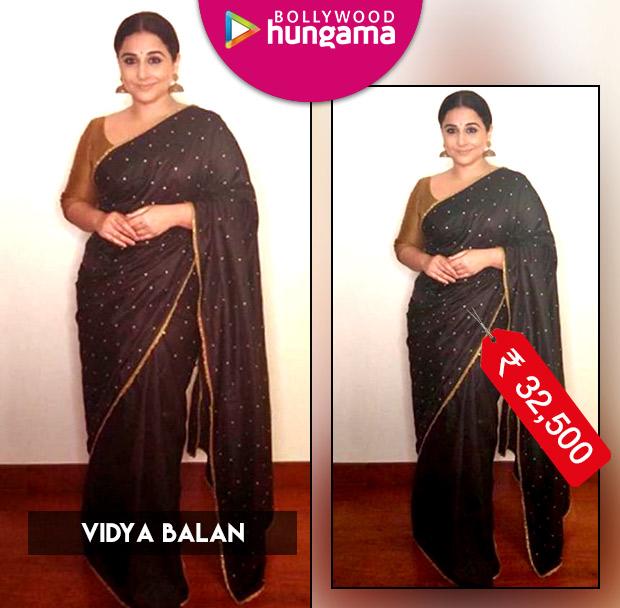 Weekly Celebrity Splurges: Vidya Balan in Lajjo C