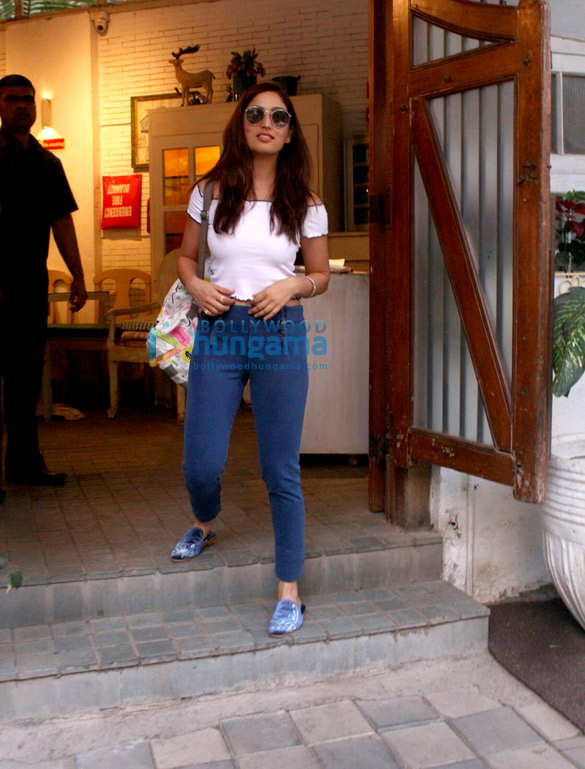 Yami Gautam and Huma Qureshi snapped in Mumbai