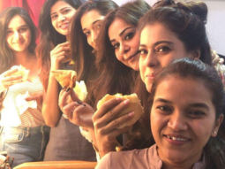 Kajol does the most Mumbai thing and treats her crew with 'Vada Pav'