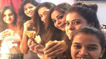 Kajol does the most Mumbai thing and treats her crew with 'Vada Pav'