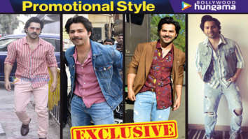 Varun Dhawan for October promotions