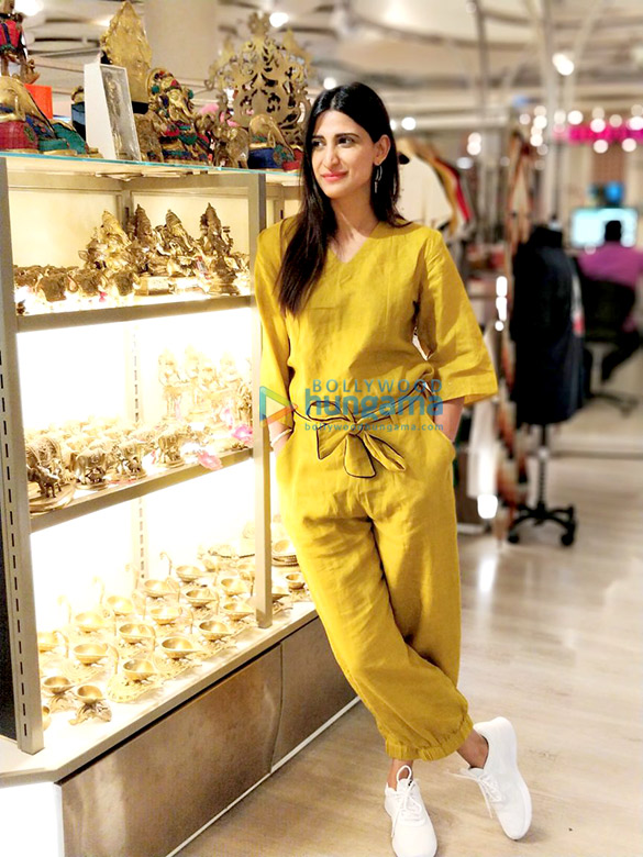 Aahana Kumra snapped leaving for Istanbul to celebrate her birthday